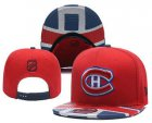 Cheap Montreal Canadiens Snapback Ajustable Cap Hat YD 1