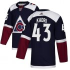 Cheap Adidas Avalanche #1 Semyon Varlamov Burgundy Home Authentic Drift Fashion Stitched NHL Jersey