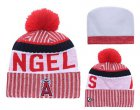 Cheap MLB Los Angeles Angels Logo Stitched Knit Beanies 001