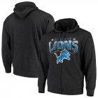 Cheap Detroit Lions G-III Sports by Carl Banks Perfect Season Full-Zip Hoodie Charcoal