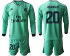 Cheap Real Madrid #20 Asensio Third Long Sleeves Soccer Club Jersey