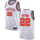 Cheap Women's Nike Phoenix Suns #22 Deandre Ayton White NBA Swingman Association Edition Jersey