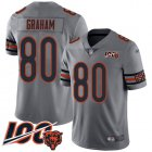 Cheap Nike Bears #80 Jimmy Graham Silver Youth Stitched NFL Limited Inverted Legend 100th Season Jersey