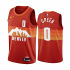 Cheap Nike Nuggets #0 JaMychal Green Red NBA Swingman 2020-21 City Edition Jersey