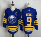 Cheap Men's Buffalo Sabres #9 Jack Eichel Blue Adidas 2020-21 Alternate Authentic Player NHL Jersey