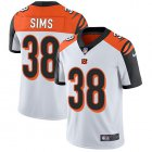 Cheap Nike Bengals #38 LeShaun Sims White Youth Stitched NFL Vapor Untouchable Limited Jersey