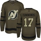 Cheap Adidas Devils #17 Wayne Simmonds Green Salute to Service Stitched NHL Jersey