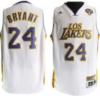 Cheap Los Angeles Lakers #24 Kobe Bryant Latin Nights Revolution 30 Swingman White Jersey