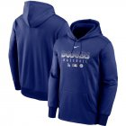 Cheap Men's Los Angeles Dodgers Nike Royal Authentic Collection Therma Performance Pullover Hoodie