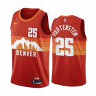 Cheap Nike Nuggets #25 Isaiah Hartenstein Red NBA Swingman 2020-21 City Edition Jersey