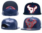Cheap NFL Houston Texans Team Logo Navy Reflective Adjustable Hat Q12