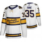 Cheap Adidas Predators #35 Pekka Rinne White Authentic 2020 Winter Classic Stitched NHL Jersey