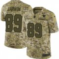Cheap Nike Cowboys #89 Blake Jarwin Camo Men's Stitched NFL Limited 2018 Salute To Service Jersey