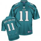 Cheap Jaguars Mike Sims-Walker #11 Green Stitched Team Color NFL Jersey