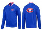 Cheap NHL Montreal Canadiens Zip Jackets Blue-1