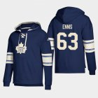 Cheap Toronto Maple Leafs #63 Tyler Ennis Blue adidas Lace-Up Pullover Hoodie