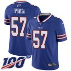 Cheap Nike Bills #57 A.J. Epenesas Royal Blue Team Color Men's Stitched NFL 100th Season Vapor Untouchable Limited Jersey