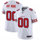 Cheap Arizona Cardinals Custom Nike White Team Logo Vapor Limited NFL Jersey