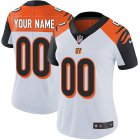 Cheap Nike Cincinnati Bengals Customized White Stitched Vapor Untouchable Limited Women's NFL Jersey