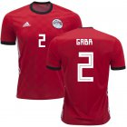 Cheap Egypt #2 Gabr Red Home Soccer Country Jersey