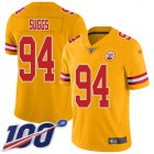 Cheap Nike Chiefs #57 Breeland Speaks White Youth Stitched NFL Vapor Untouchable Limited Jersey