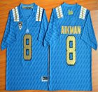 Cheap UCLA Bruins #8 Troy Aikman Blue 2015 College Football Jersey