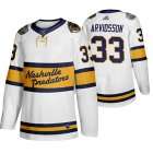 Cheap Adidas Predators #33 Viktor Arvidsson White Authentic 2020 Winter Classic Stitched NHL Jersey