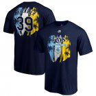 Cheap Tampa Bay Rays #39 Kevin Kiermaier Majestic 2019 Spring Training Name & Number T-Shirt Navy
