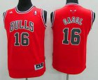 Cheap Youth Chicago Bulls #16 Pau Gasol Red Jersey