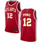 Cheap Men's Atlanta Hawks #12 Authentic Taurean Prince Red Basketball Statement Edition Jersey