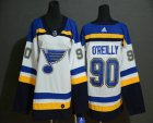 Cheap Youth St. Louis Blues #90 Ryan O'Reilly White Adidas Stitched NHL Jersey