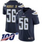 Cheap Nike Chargers #56 Kenneth Murray Jr Navy Blue Team Color Youth Stitched NFL 100th Season Vapor Untouchable Limited Jersey
