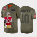 Cheap San Francisco 49ers #10 Jimmy Garoppolo Nike Team Hero 4 Vapor Limited NFL Jersey Camo