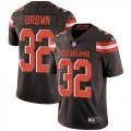 Cheap Nike Browns #32 Jim Brown Brown Team Color Youth Stitched NFL Vapor Untouchable Limited Jersey