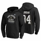 Cheap New Orleans Saints #94 Cameron Jordan 2019 NFC South Division Champions Black Cover Two Hoodie