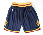 Cheap Cleveland Cavaliers Navy Blue Short
