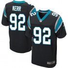 Cheap Nike Panthers #92 Zach Kerr Black Team Color Men's Stitched NFL Vapor Untouchable Elite Jersey