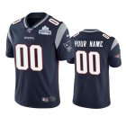Cheap New England Patriots Custom Navy Super Bowl LIII Champions Vapor Limited NFL Jersey
