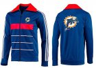 Cheap MLB Chicago Cubs Zip Jacket Blue_3