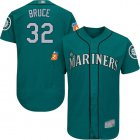 Cheap Mariners #32 Jay Bruce Green Flexbase Authentic Collection Stitched MLB Jersey