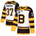 Cheap Adidas Bruins #37 Patrice Bergeron White Authentic 2019 Winter Classic Stanley Cup Final Bound Youth Stitched NHL Jersey