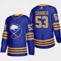 Cheap Buffalo Sabres #53 Jeff Skinner Men's Adidas 2020-21 Home Authentic Player Stitched NHL Jersey Royal Blue