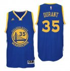 Cheap Youth Golden State Warriors Kevin Durant Royal Blue Swingman #35 Player Adidas Road Jersey