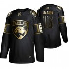 Cheap Adidas Panthers #16 Aleksander Barkov Men's 2019 Black Golden Edition Authentic Stitched NHL Jersey