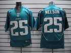 Cheap Jaguars Reggie Nelson #25 Green Stitched Team Color NFL Jersey