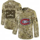 Cheap Men's Montreal Canadiens Black Camo Stack T-Shirt