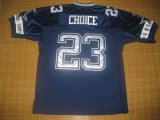 Cheap Cowboys #23 Tashard Choice Blue Stitched NFL Jersey