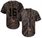 Cheap Royals #16 Paulo Orlando Camo Realtree Collection Cool Base Stitched Youth MLB Jersey