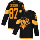 Cheap Adidas Penguins #87 Sidney Crosby Black Authentic 2019 Stadium Series Women's Stitched NHL Jersey