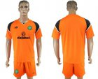 Cheap Celtic Blank Orange Goalkeeper Soccer Club Jersey